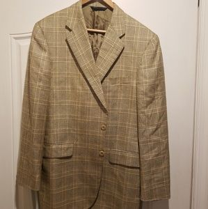 Burberry Glen Plaid Sports Coat